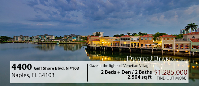 4400 Gulf Shore Blvd. Featured Properties Banner